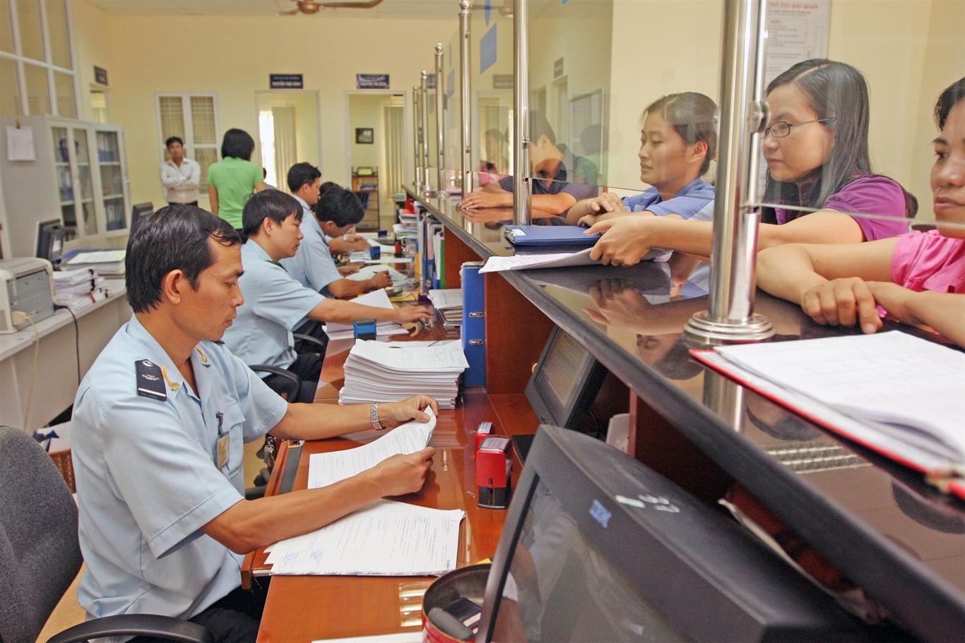 Tờ khai thông quan là giấy tờ có tác dụng thông quan tại chi cục Hải quan.