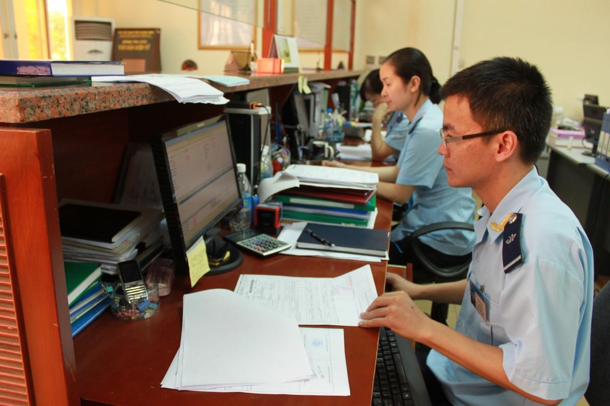 Doanh nghiệp có thể in tờ khai hải quan từ phần mềm hệ thống.
