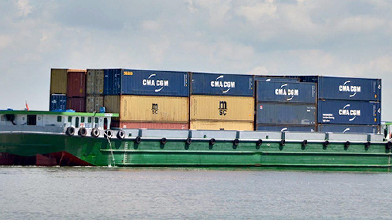 Sà lan được sử dụng phổ biến trong ngành vận tải đường thủy